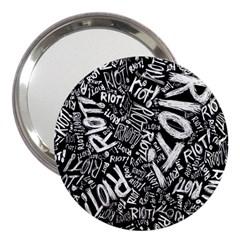 Panic At The Disco Lyric Quotes Retina Ready 3  Handbag Mirrors