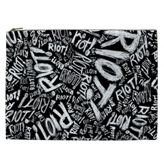 Panic At The Disco Lyric Quotes Retina Ready Cosmetic Bag (xxl)  by Samandel
