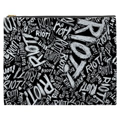 Panic At The Disco Lyric Quotes Retina Ready Cosmetic Bag (xxxl)  by Samandel