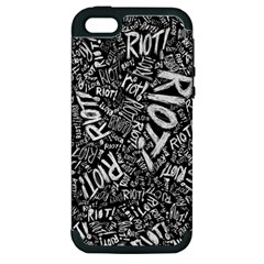 Panic At The Disco Lyric Quotes Retina Ready Apple Iphone 5 Hardshell Case (pc+silicone)
