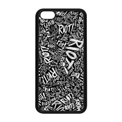 Panic At The Disco Lyric Quotes Retina Ready Apple Iphone 5c Seamless Case (black)