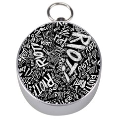 Panic At The Disco Lyric Quotes Retina Ready Silver Compasses by Samandel