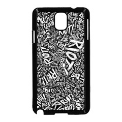 Panic At The Disco Lyric Quotes Retina Ready Samsung Galaxy Note 3 Neo Hardshell Case (black) by Samandel