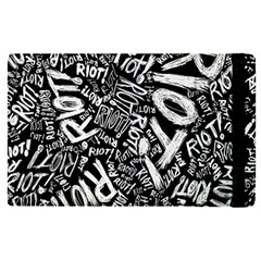 Panic At The Disco Lyric Quotes Retina Ready Apple Ipad Pro 12 9   Flip Case by Samandel