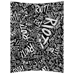 Panic At The Disco Lyric Quotes Retina Ready Back Support Cushion by Samandel