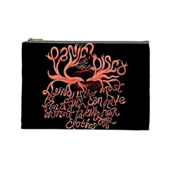 Panic At The Disco   Lying Is The Most Fun A Girl Have Without Taking Her Clothes Cosmetic Bag (large)  by Samandel