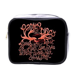 Panic At The Disco   Lying Is The Most Fun A Girl Have Without Taking Her Clothes Mini Toiletries Bags by Samandel