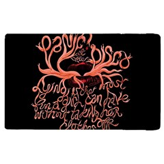 Panic At The Disco   Lying Is The Most Fun A Girl Have Without Taking Her Clothes Apple Ipad 3/4 Flip Case by Samandel