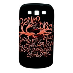 Panic At The Disco   Lying Is The Most Fun A Girl Have Without Taking Her Clothes Samsung Galaxy S Iii Classic Hardshell Case (pc+silicone) by Samandel