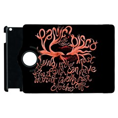 Panic At The Disco   Lying Is The Most Fun A Girl Have Without Taking Her Clothes Apple Ipad 2 Flip 360 Case by Samandel