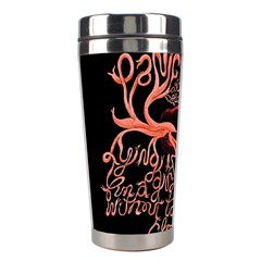 Panic At The Disco   Lying Is The Most Fun A Girl Have Without Taking Her Clothes Stainless Steel Travel Tumblers by Samandel