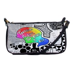 Panic ! At The Disco Shoulder Clutch Bags by Samandel
