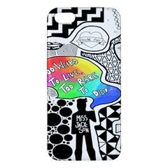 Panic ! At The Disco Apple Iphone 5 Premium Hardshell Case by Samandel