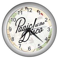 Panic At The Disco Beautifull Floral Wall Clocks (silver)
