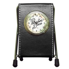 Panic At The Disco Beautifull Floral Pen Holder Desk Clocks by Samandel