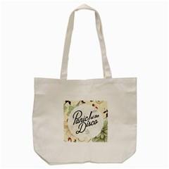 Panic At The Disco Beautifull Floral Tote Bag (cream) by Samandel