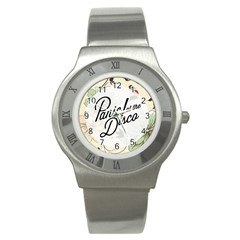 Panic At The Disco Beautifull Floral Stainless Steel Watch by Samandel