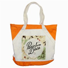 Panic At The Disco Beautifull Floral Accent Tote Bag by Samandel