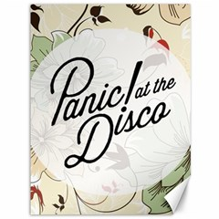 Panic At The Disco Beautifull Floral Canvas 36  X 48