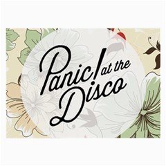 Panic At The Disco Beautifull Floral Large Glasses Cloth