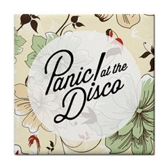 Panic At The Disco Beautifull Floral Face Towel by Samandel