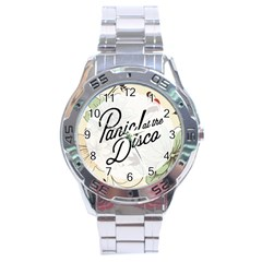 Panic At The Disco Beautifull Floral Stainless Steel Analogue Watch