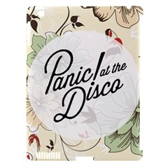 Panic At The Disco Beautifull Floral Apple Ipad 3/4 Hardshell Case (compatible With Smart Cover)