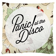 Panic At The Disco Beautifull Floral Large Cushion Case (two Sides)
