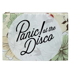 Panic At The Disco Beautifull Floral Cosmetic Bag (xxl)  by Samandel