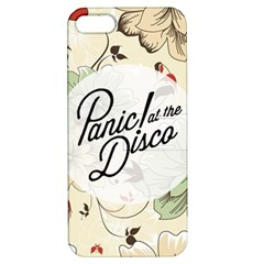 Panic At The Disco Beautifull Floral Apple Iphone 5 Hardshell Case With Stand