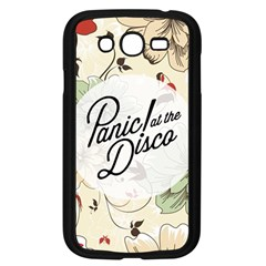 Panic At The Disco Beautifull Floral Samsung Galaxy Grand Duos I9082 Case (black)