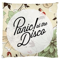 Panic At The Disco Beautifull Floral Large Flano Cushion Case (two Sides)