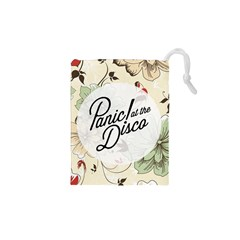 Panic At The Disco Beautifull Floral Drawstring Pouches (xs)  by Samandel