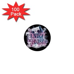 Panic At The Disco Art 1  Mini Buttons (100 Pack)  by Samandel