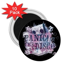 Panic At The Disco Art 2 25  Magnets (10 Pack)