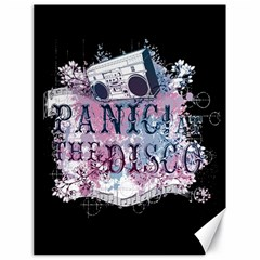 Panic At The Disco Art Canvas 18  X 24   by Samandel