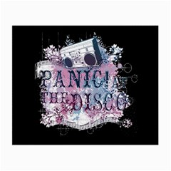 Panic At The Disco Art Small Glasses Cloth (2 Side) by Samandel