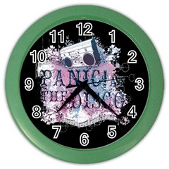 Panic At The Disco Art Color Wall Clocks
