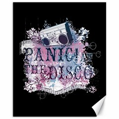 Panic At The Disco Art Canvas 11  X 14   by Samandel