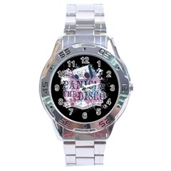 Panic At The Disco Art Stainless Steel Analogue Watch by Samandel