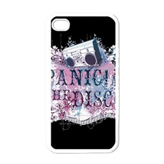 Panic At The Disco Art Apple Iphone 4 Case (white) by Samandel