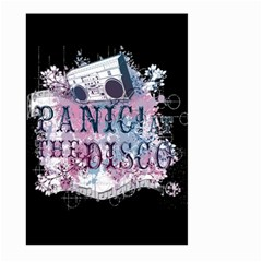 Panic At The Disco Art Large Garden Flag (two Sides) by Samandel