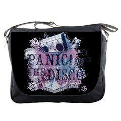 Panic At The Disco Art Messenger Bags