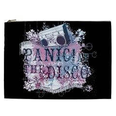 Panic At The Disco Art Cosmetic Bag (xxl)  by Samandel