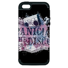 Panic At The Disco Art Apple Iphone 5 Hardshell Case (pc+silicone)