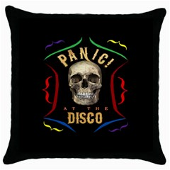 Panic At The Disco Poster Throw Pillow Case (black) by Samandel