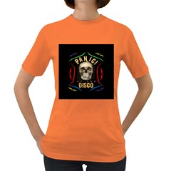 Panic At The Disco Poster Women s Dark T Shirt by Samandel