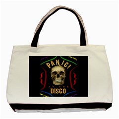 Panic At The Disco Poster Basic Tote Bag (two Sides) by Samandel