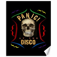 Panic At The Disco Poster Canvas 11  X 14   by Samandel