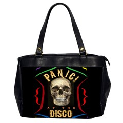 Panic At The Disco Poster Office Handbags (2 Sides)  by Samandel